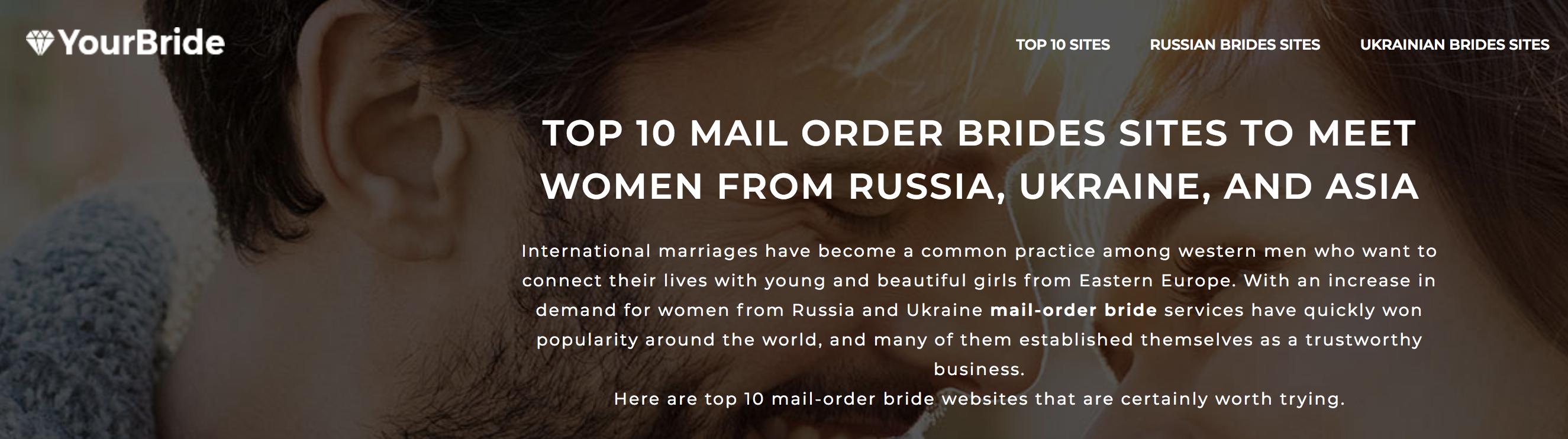 Top mail order brides